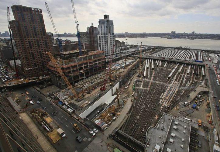 El proyecto Manhattan West, junto con el Hudson Yards, es el más ambicioso desde la construcción del Rockefeller Center en los años 30. (AP)