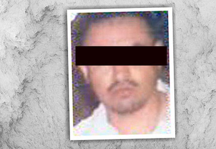 """Eleazar M. R., alias """"El Chelelo"""", ligado al Cártel del Golfo. (Foto tomada de proceso.com)"""