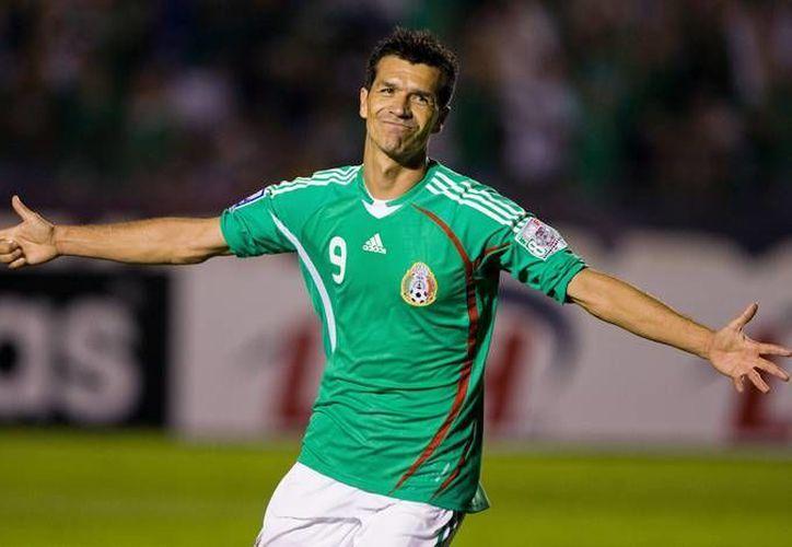 Jared Borgetti será reconocido junto a once miembros del futbol internacional y nacional. (Notimex)