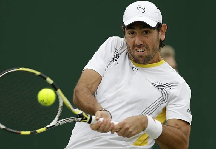 Wayne Odesnik, suspendido 15 años del tenis profesional, un castigo que prácticamente acaba con su carrera deportiva. (Foto de archivo: AP)