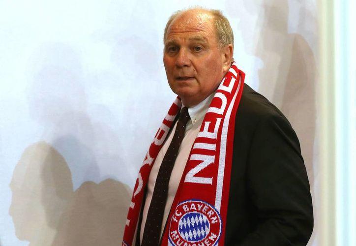 Uli Hoeness, campeón del mundo con Alemania en el Mundial de 1974 y exdirectivo del Bayern Munich, salió dos días de la cárcel por las fiestas navideñas. (sportal.com.au)