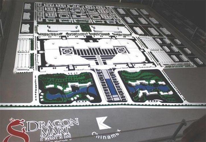 """El Dragon Mart fue presentado como un proyecto empresarial en 2011, un centro de exhibición y negocios, edificado en el predio """"El Tucán"""". (Foto de Contexto/Internet)"""