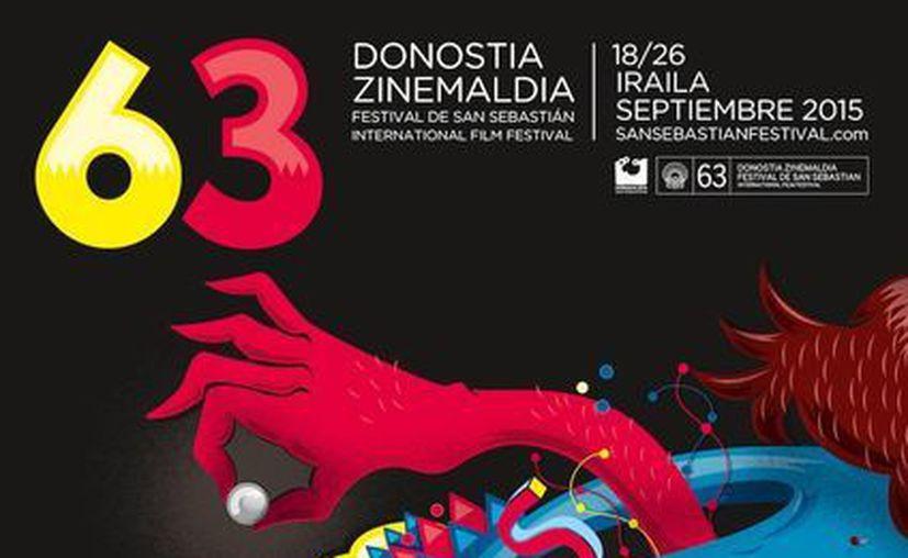 Este es el cartel del Festival de cine de San Sebastián, en cuya inauguración se proyectará 'Regression', del cineasta Alejandro Amenabar. (profesionalespanama.net)
