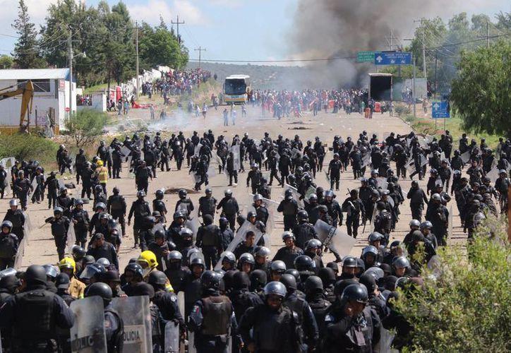 La Coordinadora anuncia que intensificará sus acciones de protesta en las próximas 72 horas. (Archivo/AP)