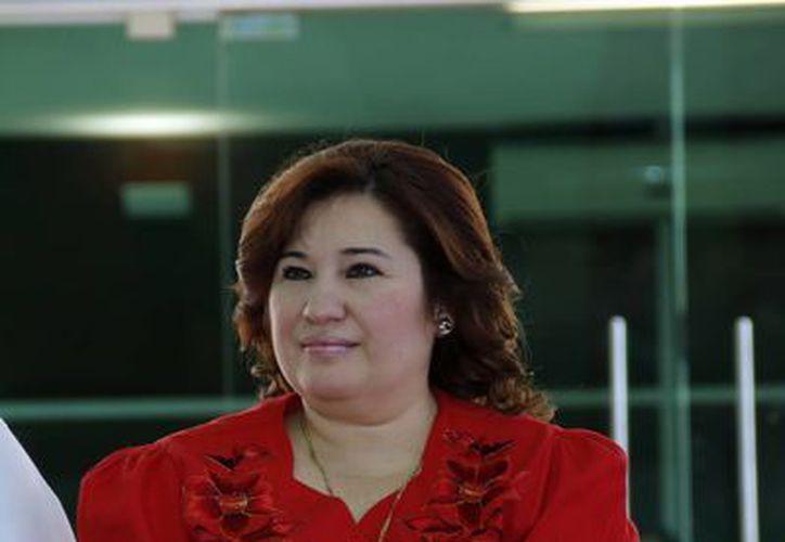 La fiscal Celia Rivas destacó que en algunos homicidios de mujeres, el esclarecimiento del caso se logró en tiempo récord. (SIPSE)