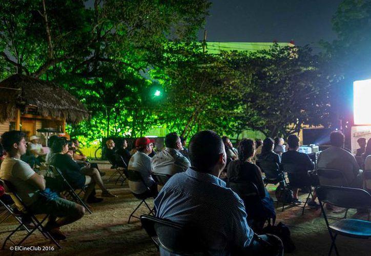 La permanencia de las películas será del 5 al 21 de octubre, y será inicialmente el Parque La Ceiba. (Redacción/SIPSE)
