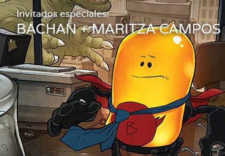 """El séptimo Coloquio del Comic en la Cultura contará con la participación de Sebastián Carrillo """"Bachan"""", uno de los ilustradores y comiqueros más importantes del movimiento de la historieta mexicana contemporánea. (Facebook 7mo Coloquio del Cómic en la Cultura)"""