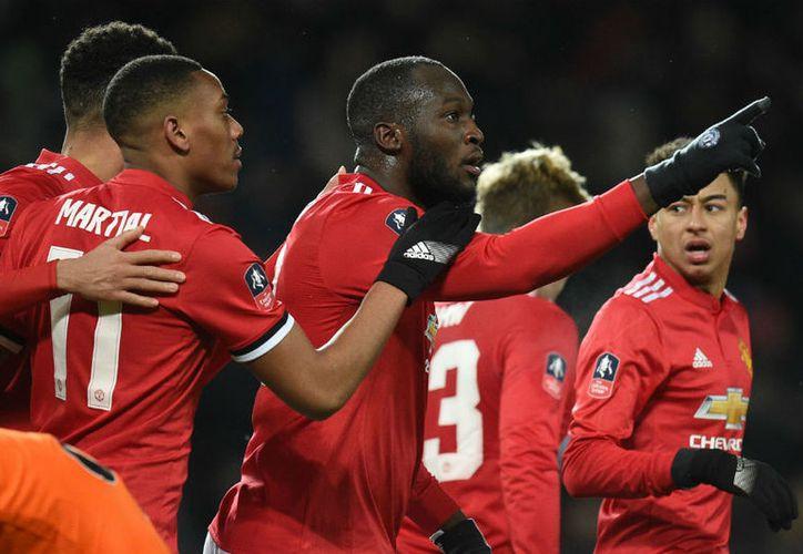 Manchester venció por 2-0 al Brighton, en el Old Trafford. (Foto: La Tercera)