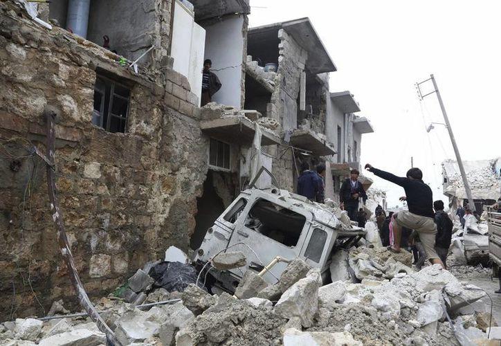Los ataques del gobierno contra  civiles se recrudecen en Siria. (EFE)
