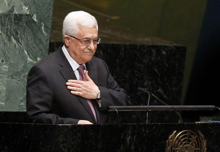 Mahmoud Abbas expresó que la declaración es un derecho inalienable de su pueblo. (Agencias)