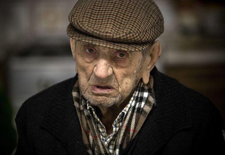 Francisco Núñez Olivera era considerado el hombre más longevo del mundo. (El Mundo)