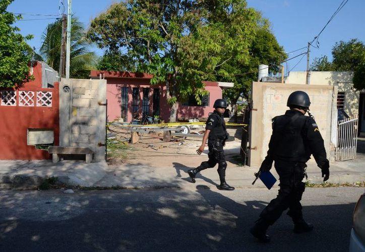 El accidente ocurrió en este predio ubicado en la colonia Chichén Itzá de Mérida. (SIPSE)