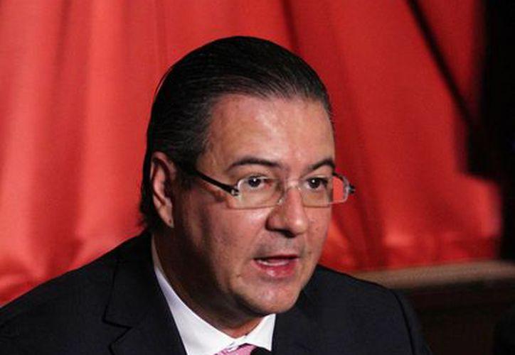 Gerardo Gutiérrez Candiani, presidente del CCE, dijo que a un año del Pacto ha habido excelentes resultados. (Archivo/Notimex)