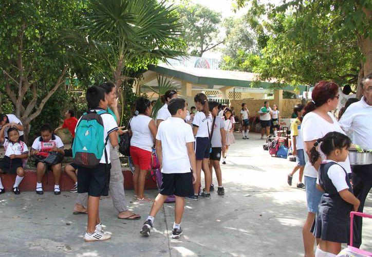 La escuela fue fundada en 1976, siendo esta la segunda institución educativa del estado. (Tomás Álvarez/SIPSE)