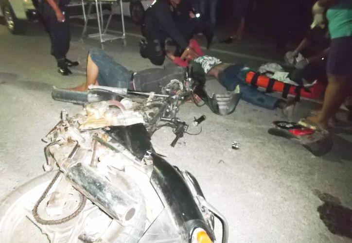 Crean conciencia en motociclistas para evitar accidentes fatales. (Javier Ortiz/SIPSE)