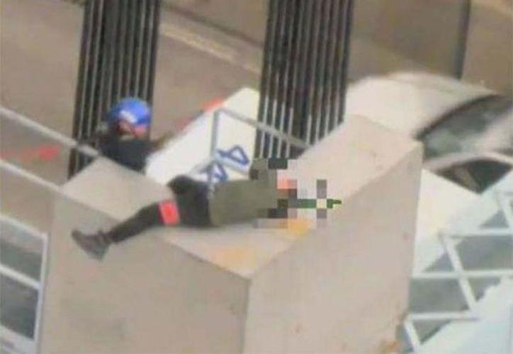 Un hombre fue rescatado en la ciudad de Nueva York. (New York Police Department)