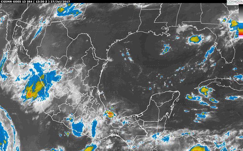 Jornada con probabilidad de lluvias y tormentas con una máxima de 22º