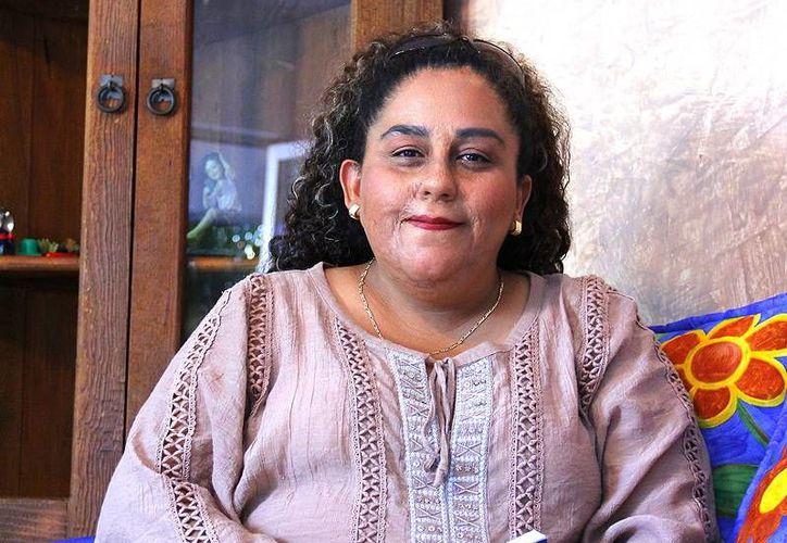 Lidia Saleh Angulo lamenta que se abandone a los animales. (Milenio Novedades)
