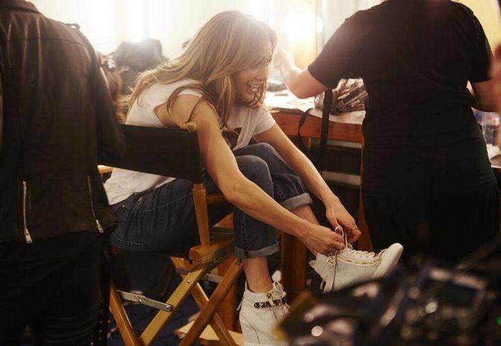 """En """"Los 33"""", Jennifer López iba a trabajar con Antonio Banderas y Martin Sheen. (@JLo)"""