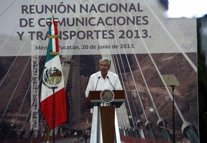 Gerardo Ruiz Esparza, secretario de Comunicaciones y Transportes. (SIPSE)