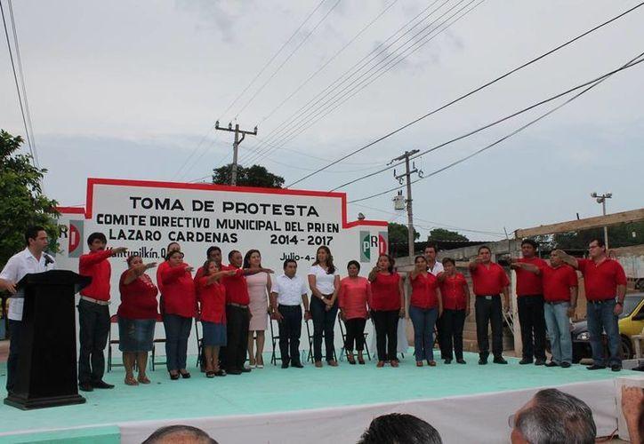 El alcalde estuvo presente en el desarrollo de las actividades. (Raúl Balam/SIPSE)