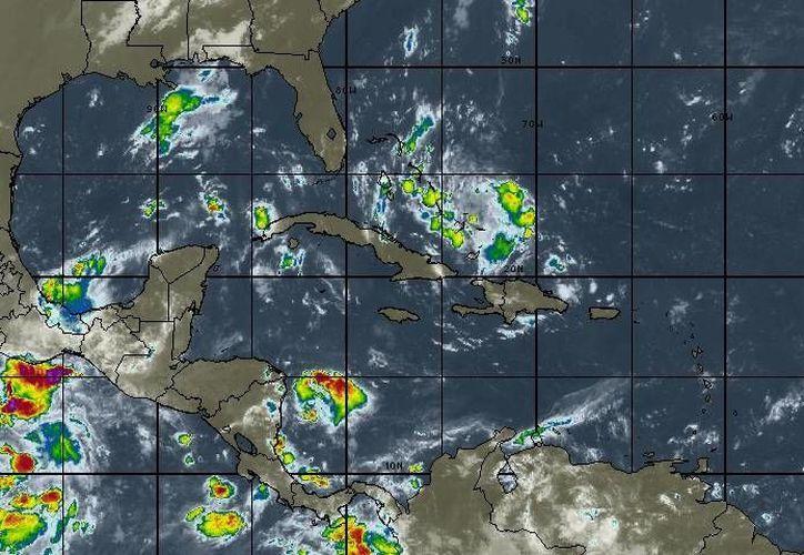 Existe un 90 por ciento de probabilidad de lluvias. (Intellicast)