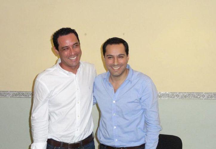 Los diputados Raúl Paz y Mauricio Vila sumaron esfuerzos para conformar una 'Alianza por Mérida', en pos de mantener en manos del PAN la alcaldía de la capital yucateca. (SIPSE)