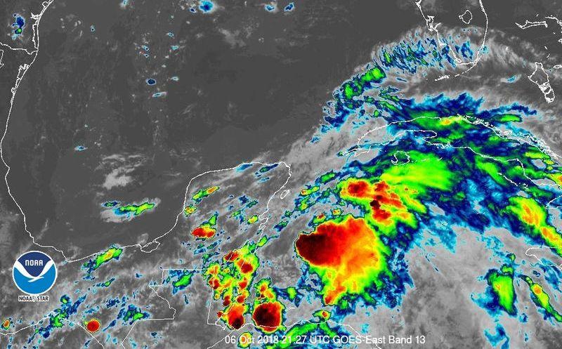 Tormenta tropical Michael se forma frente a Quintana Roo