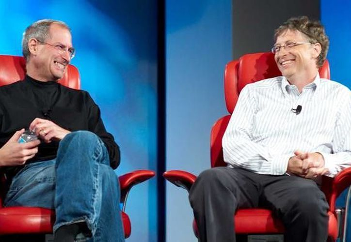 Steve Jobs y Bill Gates serán los personajes principales de 'Nerds', musical de Broadway que le apostará a la innovación tecnológica ya que utilizará proyecciones de mapeo y hologramas en el escenario para 'revivir' al creador de Apple.  (Imagen tomada de businessinsider.com)