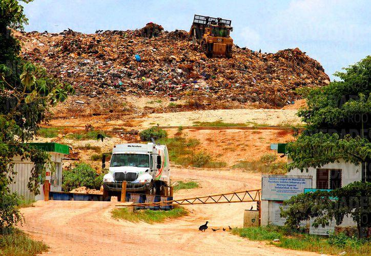 Proyectan que a finales del 2017, Solidaridad estaría llegando a casi 200 mil toneladas de basura. (Foto: Daniel Pacheco/SIPSE)
