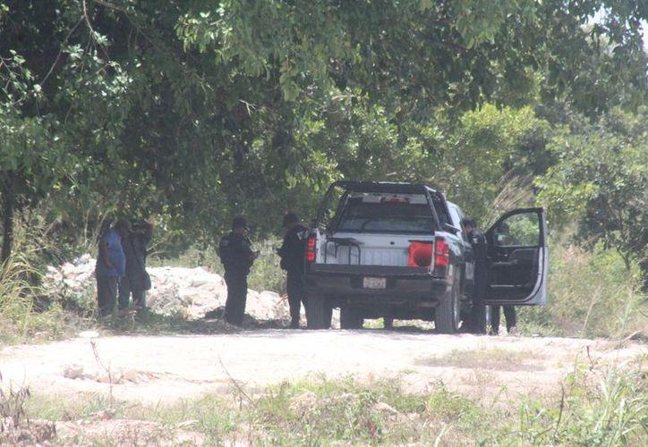 El reporte ocasionó una fuerte movilización policíaca. (Redacción/SIPSE)
