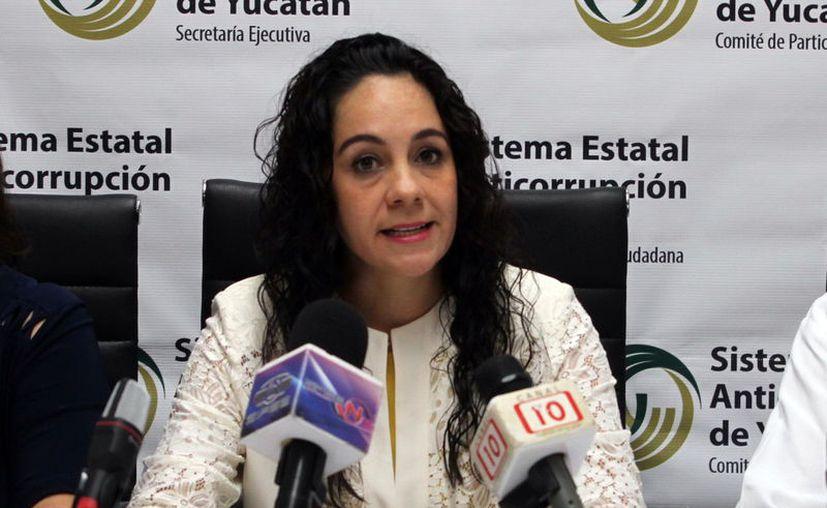 Graciela Torres Garma, presidenta de la Seseay. (Novedades Yucatán)