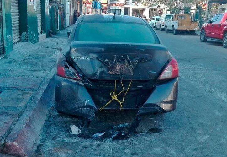 El incidente ocurrió en la 50 avenida, entre las calles 21 y 23. (Gustavo Villegas/SIPSE)