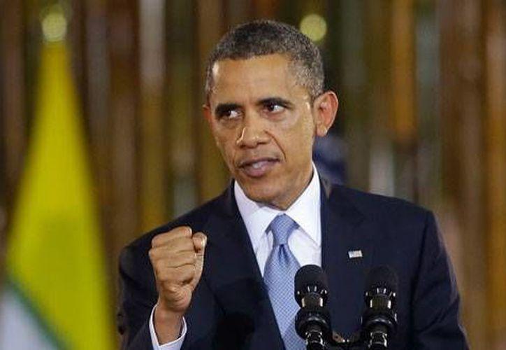 """El presidente estadunidense también afirmó que el apoyo de EU a sus aliados de la OTAN es """"inquebrantable"""". (Archivo/Agencias)"""