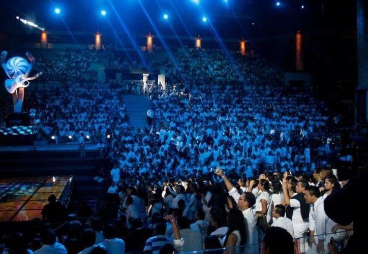 Los pasados Premios Telehit, realizados en Xcaret, fueron todo un éxito. (Israel Leal/SIPSE)