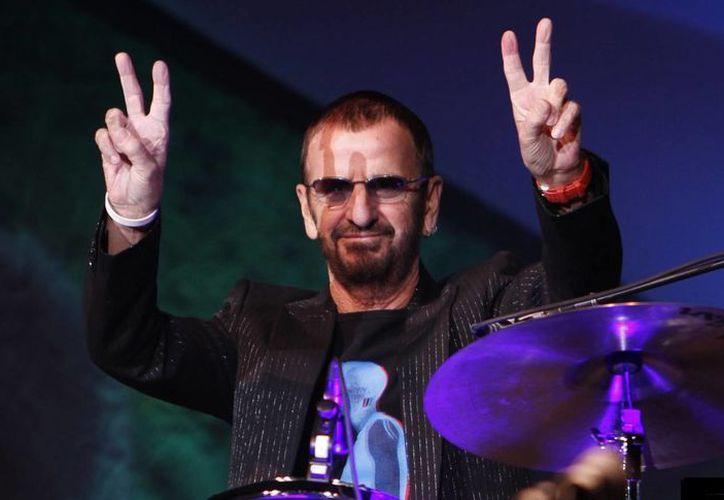 Ringo Starr tiene 72 años pero se mantien activo en la escena musical. (vox.com/Archivo)