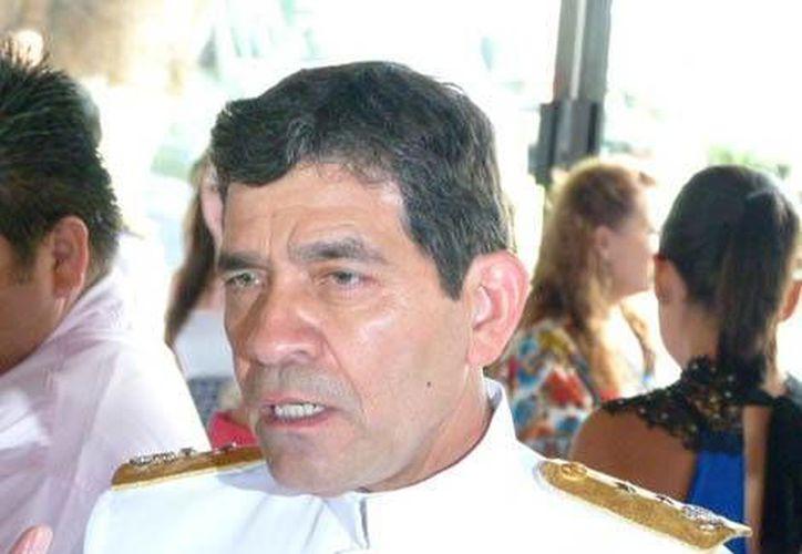 Vicealmirante Alberto Castillo Zárate,  quien releva al fallecido Carlos Miguel Salazar Ramonet. (Foto: Guillermo Gómez Pastén/MILENIO)