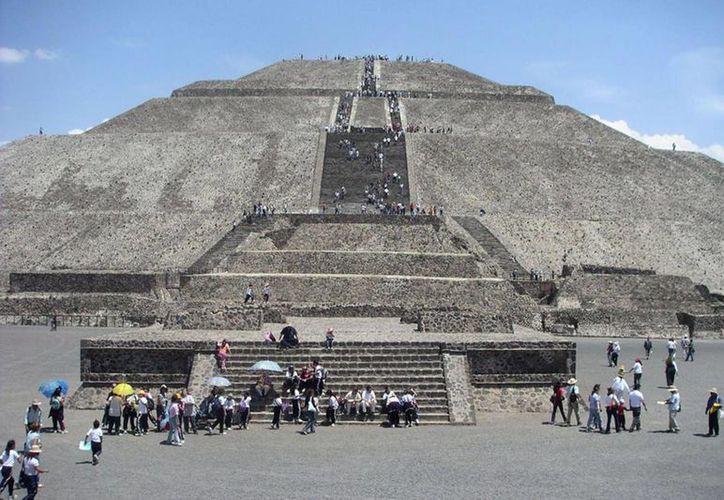 El análisis a 40 individuos de tres barrios de Teotihuacán (foto) reveló un cruce a nivel genético con mayas de Xcaret. (Milenio Novedades)