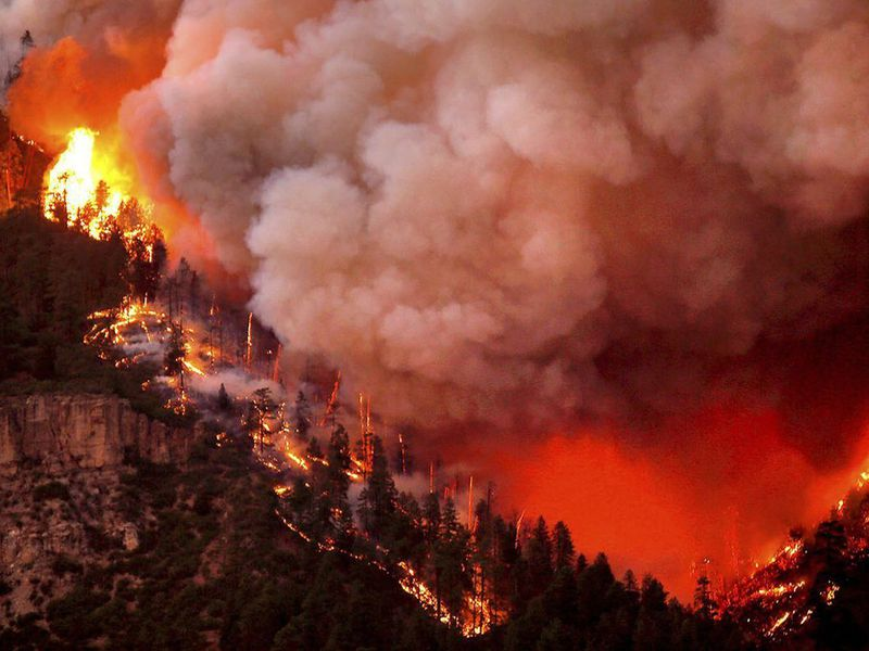 The move comes as the residents of over 2,000 homes have been forced to evacuate. (AP)