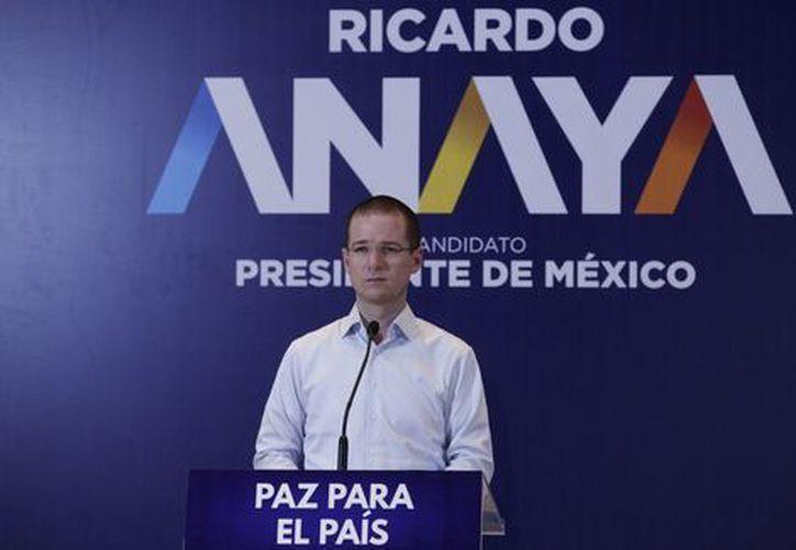 Anaya afirmó que garantizará una Fiscalía General autónoma e independiente. (Milenio)