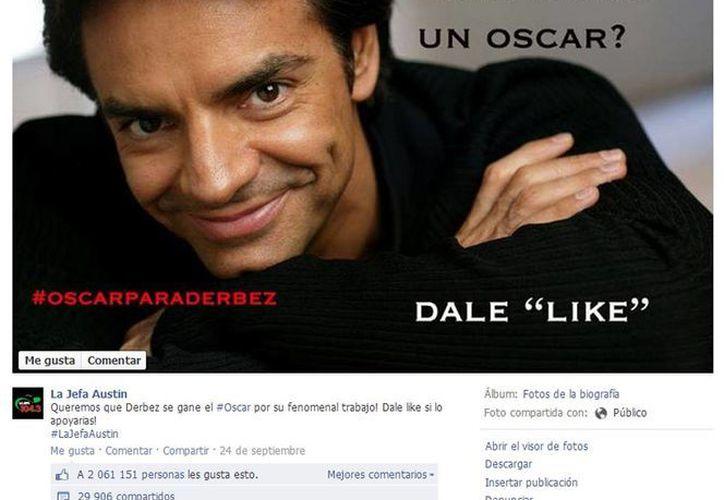Más de dos millones apoyan al mexicano. (Facebook.com/lajefaaustin)