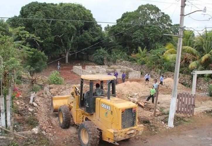 La extensión de la calle Jacinto Canek beneficiará a los habitantes de Javier Rojo Gómez. (Redacción/SIPSE)