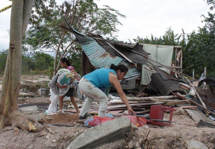 Los asentamientos irregulares carecen de infraestructura y servicios básicos como, agua, drenaje, electricidad, entre otros. (Juan Palma/SIPSE)