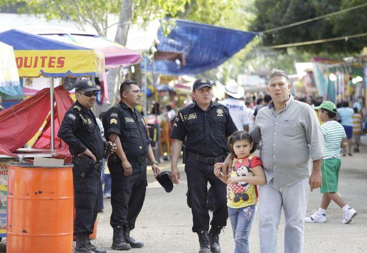 La SSP asegura que han habido dos hechos inusuales en la Feria. (Milenio Novedades)