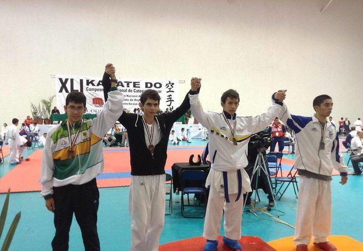 Yucatecos, ganadores de medallas de bronce. (Milenio Novedades)