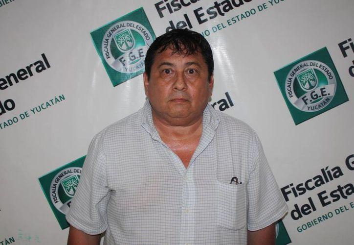 Álvaro Diego Escalante Peraza es el papá defraudador. (Cortesía)