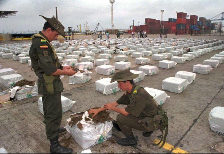 La policía de Colombia dijo que la captura del mexicano 'Lacosste' desequilibra la estructura del cártel de Sinaloa. La imagen cumple funciones estrictamente referencial. (Archivo/AP)