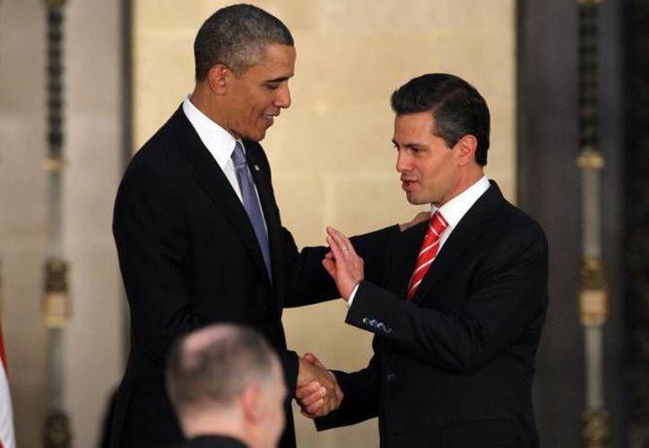 Obama y Peña coincidieron en la importancia de la coordinación, y en el papel que desempeñan las Cumbres de Líderes de América del Norte para impulsar a la región. (Notimex/Foto de archivo)