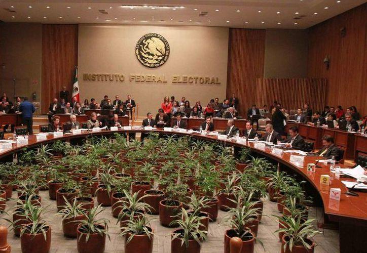 El dictamen de la unidad de Fiscalización del instituto será debatido posteriormente. (Notimex)