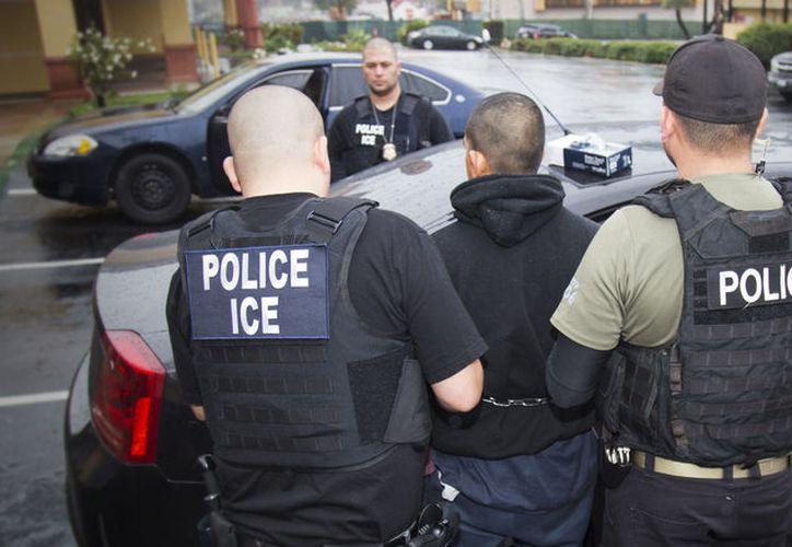 El mayor número de arrestos se registró en las oficinas del ICE en Dallas, Oklahoma, Atlanta y Houston. (López Dóriga).